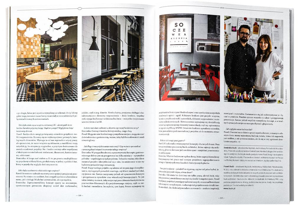 Photos of Di and Soczewka restaurants in Wroclaw, Poland